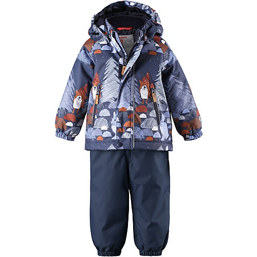 Комплект Reima Ruis: куртка и полукомбинезон - темно-синий от Reima