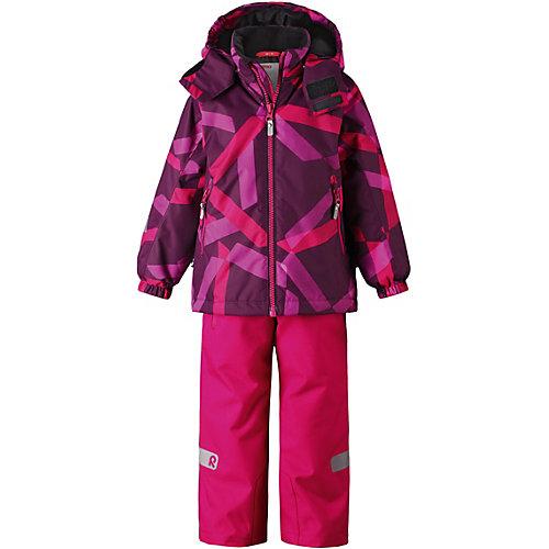Комплект Reima Maunu: куртка и полукомбинезон - розовый от Reima