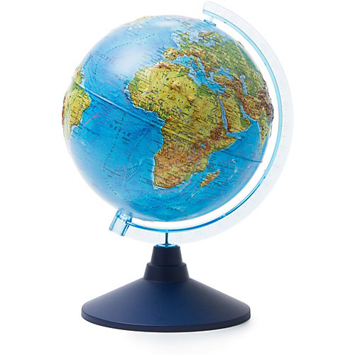 Глобус Земли Globen, физический рельефный, 210мм. от Globen