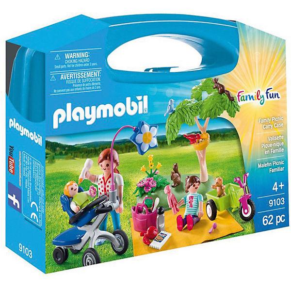 """Конструктор Playmobil """"Возьми с собой"""" Семейный пикник"""