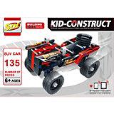 """3D-Конструктор SDL """"Kid-Construct"""" Кроссовер чёрный, 135 деталей"""