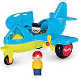 Самолет Viking Toys Jumbo, с 2 фигурками