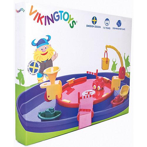"""Игровой набор Viking City Порт с гаванью"""" с техникой от Viking Toys"""