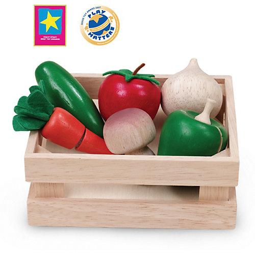 """Игровой набор Wonderworld """"Овощи и грибы"""" для нарезки, в ящике от Wonderworld"""