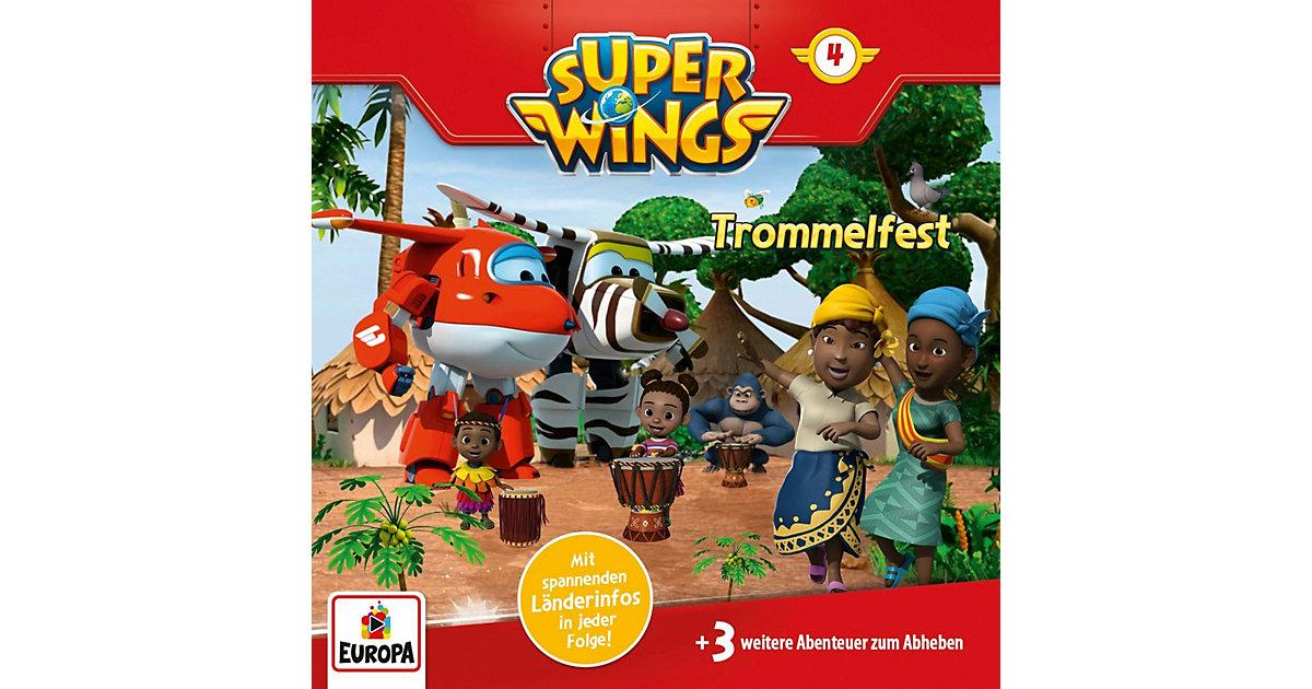 CD Super Wings 4 - Trommelfest Hörbuch