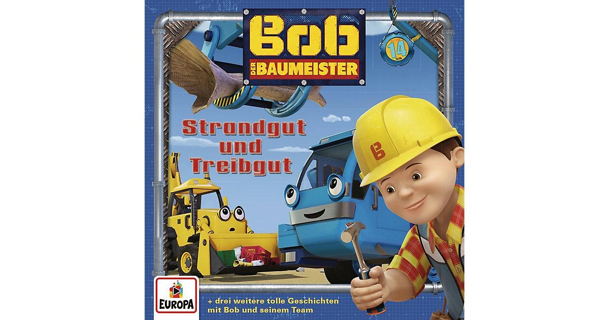 CD Bob der Baumeister 14 - Strandgut und Treibgut Hörbuch