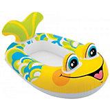 """Надувная лодочка с сидением и со спинкой Intex """"Рыбка"""""""