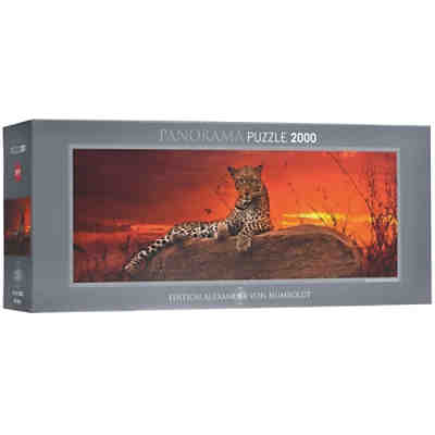 Panorama-Puzzle 2000 Teile - Red Dawn