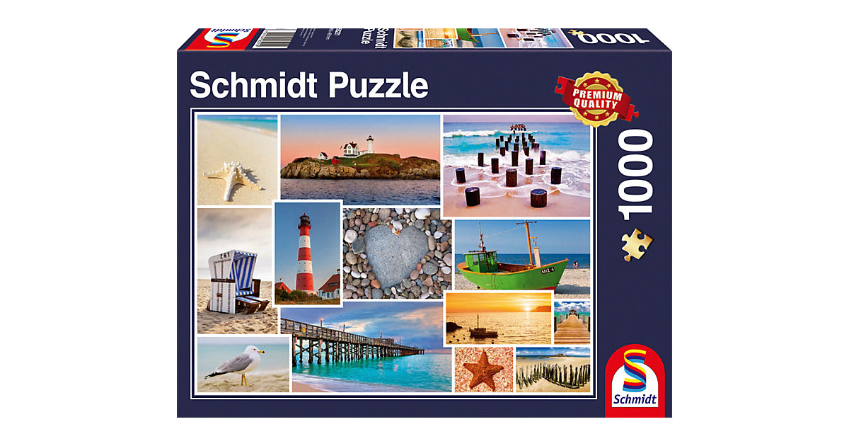 Puzzle 1000 Teile Am Meer