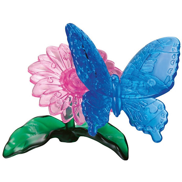 Crystal Puzzle Schmetterling 38 T.,