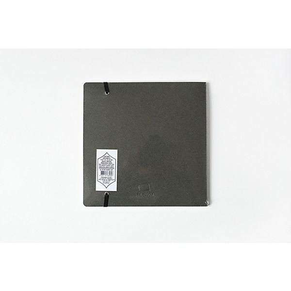 """Скетчбук для акварели Малевичъ """"Satin"""", Shammy grey, 16 листов, 21х21"""