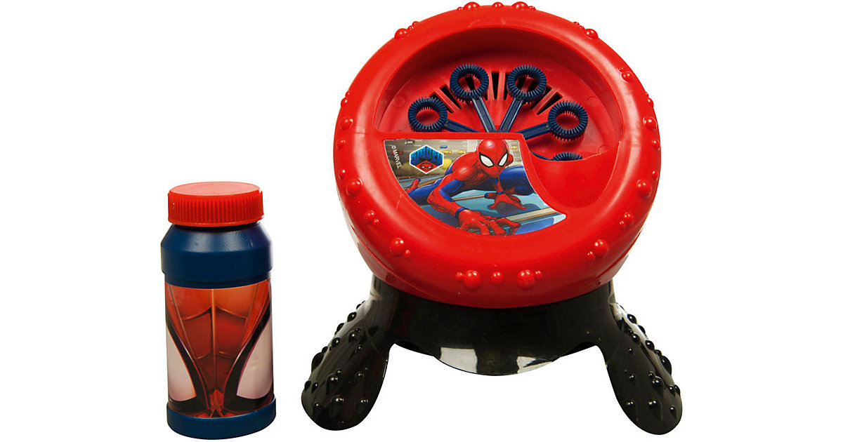 Sambro · Spiderman evergreen Seifenblasenmaschine, 2-tlg.