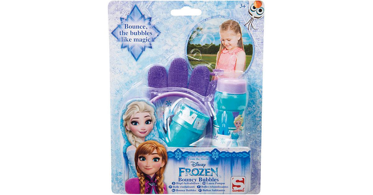 Frozen Hüpf-Seifenblasen, 4-tlg.