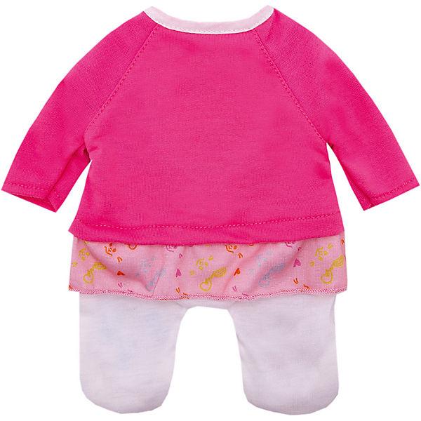 "Одежда для куклы Zapf Creation ""My little BABY born"" Костюмчик, розовый"