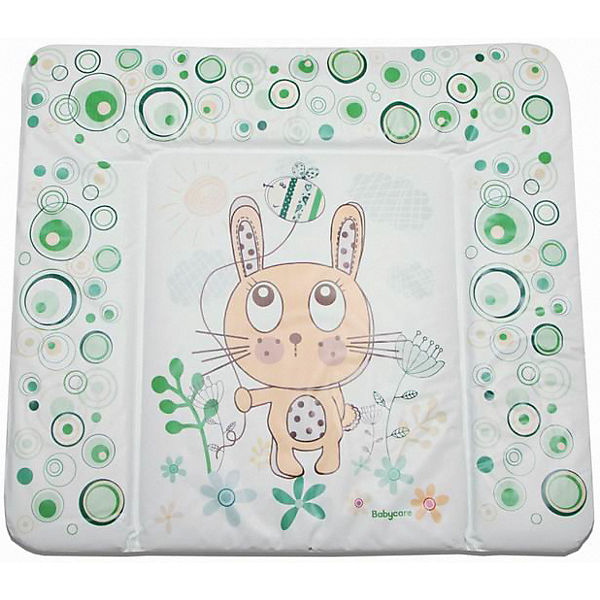 "Матрас для пеленания Baby Care ""Funny Bunny"", green"