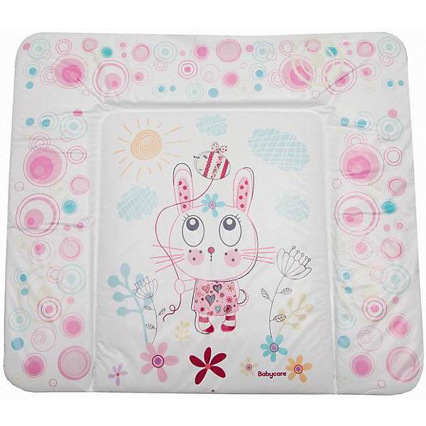 "Матрас для пеленания Baby Care ""Funny Bunny"", pink"
