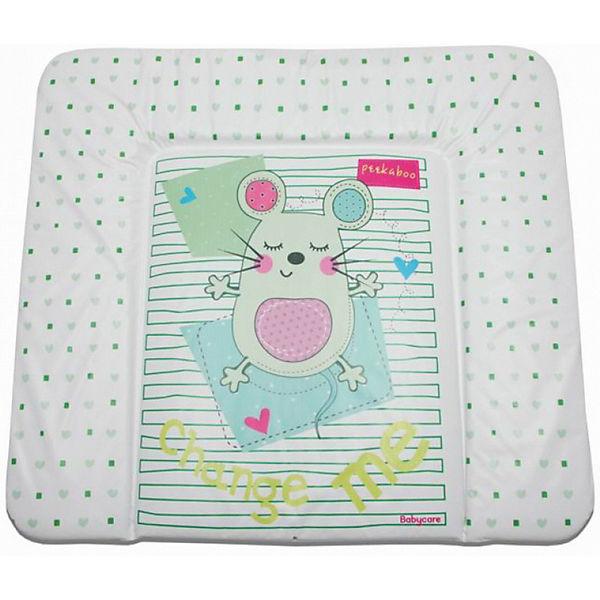 """Матрас для пеленания Baby Care """"Sleepy Mouse"""", green"""