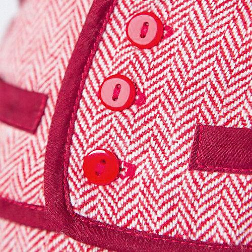 Мягкая игрушка Budi Basa Кот Басик в красном пиджаке и брюках в ёлочку, 22 см от Budi Basa