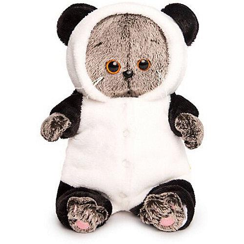 """Мягкая игрушка Budi Basa Кот Басик Baby в комбинезоне """"Панда"""", 20 см от Budi Basa"""