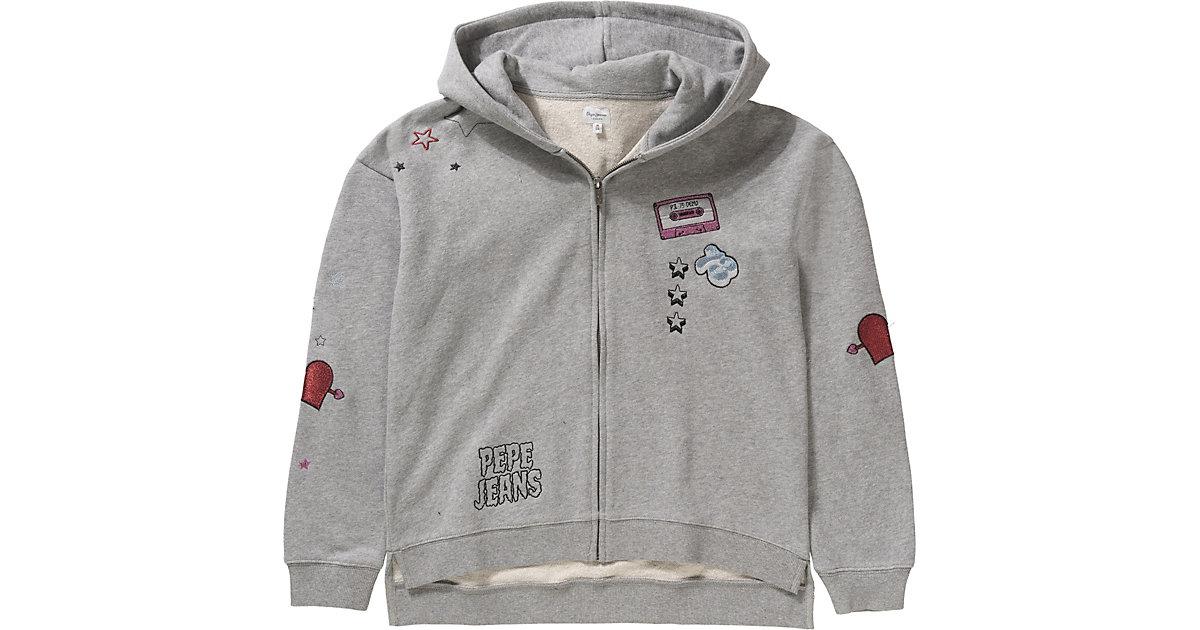 Pepe Jeans · Sweatjacke LUNA Gr. 176 Mädchen Kinder