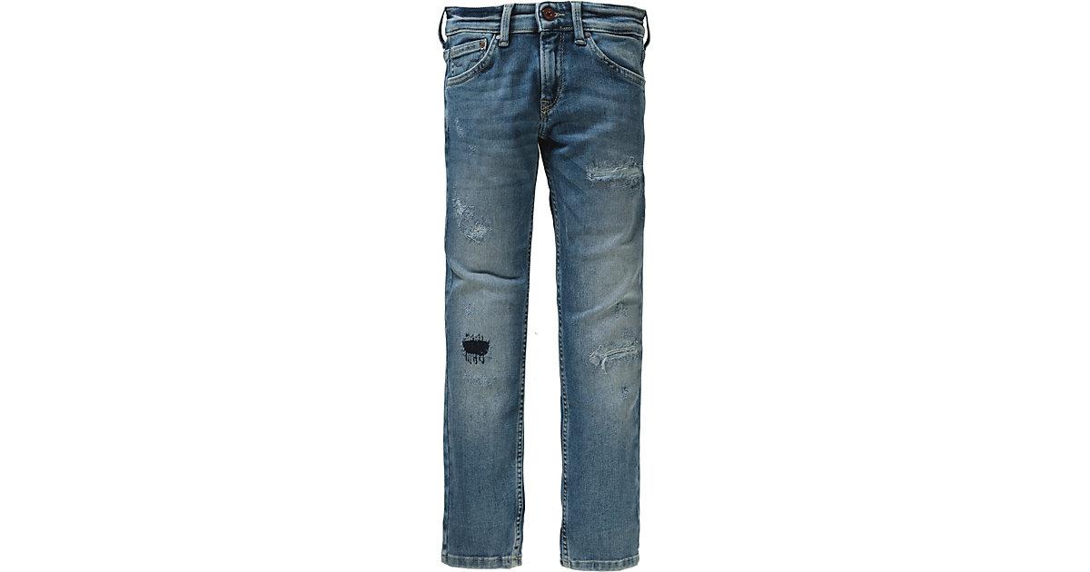 Pepe Jeans · Jeans CASHED DIY Gr. 176 Jungen Kinder