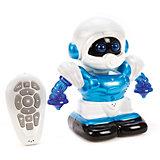 Радиоуправляемый робот Наша Игрушка со светом и звуком, синий
