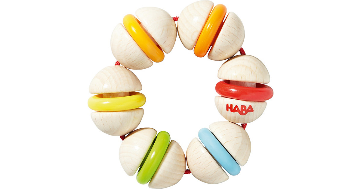 HABA · Greifling Klapper-Ring