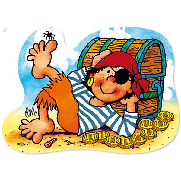 Partytüten und Einladungskarten Pirat Pit Planke, 32-tlg., Lutz Lutz 32-tlg., Mauder Verlag 58e1b9
