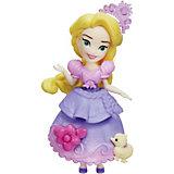 """Мини-кукла Disney Princess """"Маленькое королевство"""" Рапунцель, 7,5 см"""