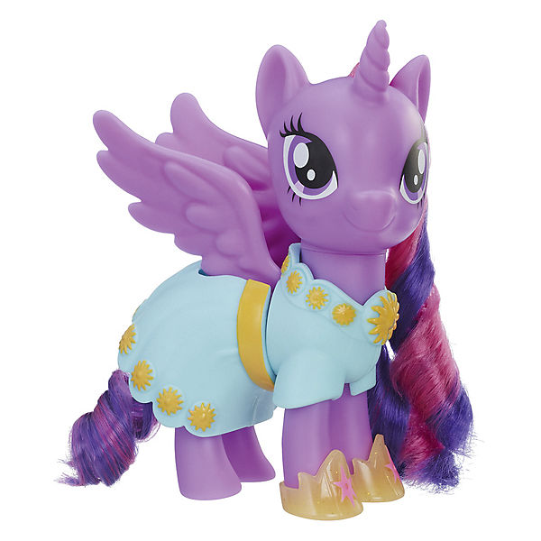 "Игровой набор My Little Pony ""Сияние пони-модницы"" Искорка (Твайлат Спаркл) с аксессуарами, 15 см"