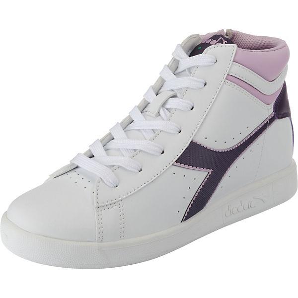 15bcb1a8cc Sneakers high GAME P HIGH GS für Mädchen, Diadora