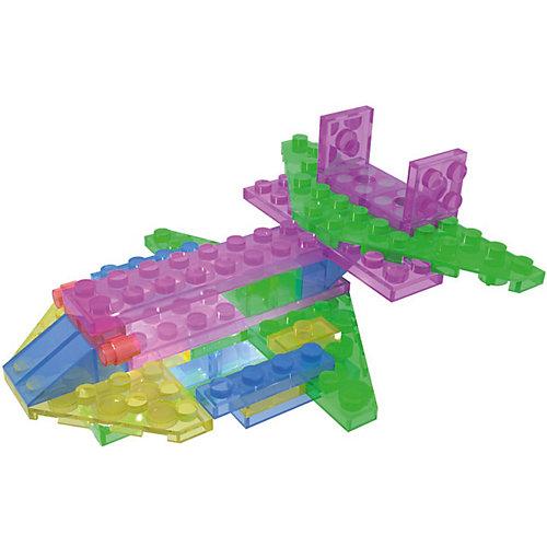 """Светящийся конструктор 4 в 1 Laser Pegs """"Аэропланы"""" в футляре, 39 деталей от Laser Pegs"""