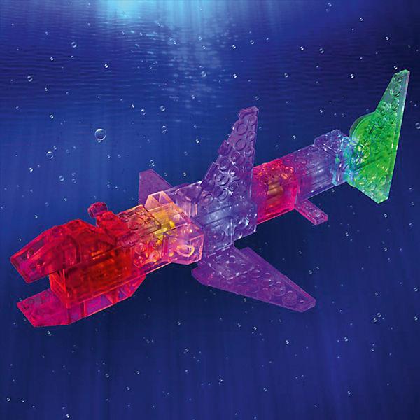 """Светящийся конструктор 6 в 1 Laser Pegs """"Океан"""", 78 деталей"""