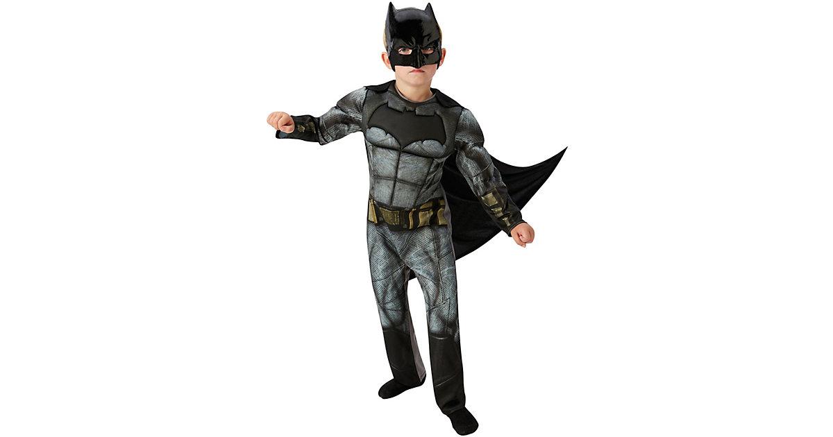 Kostüm Batman Justice League Deluxe Gr. 110/116 Jungen Kinder