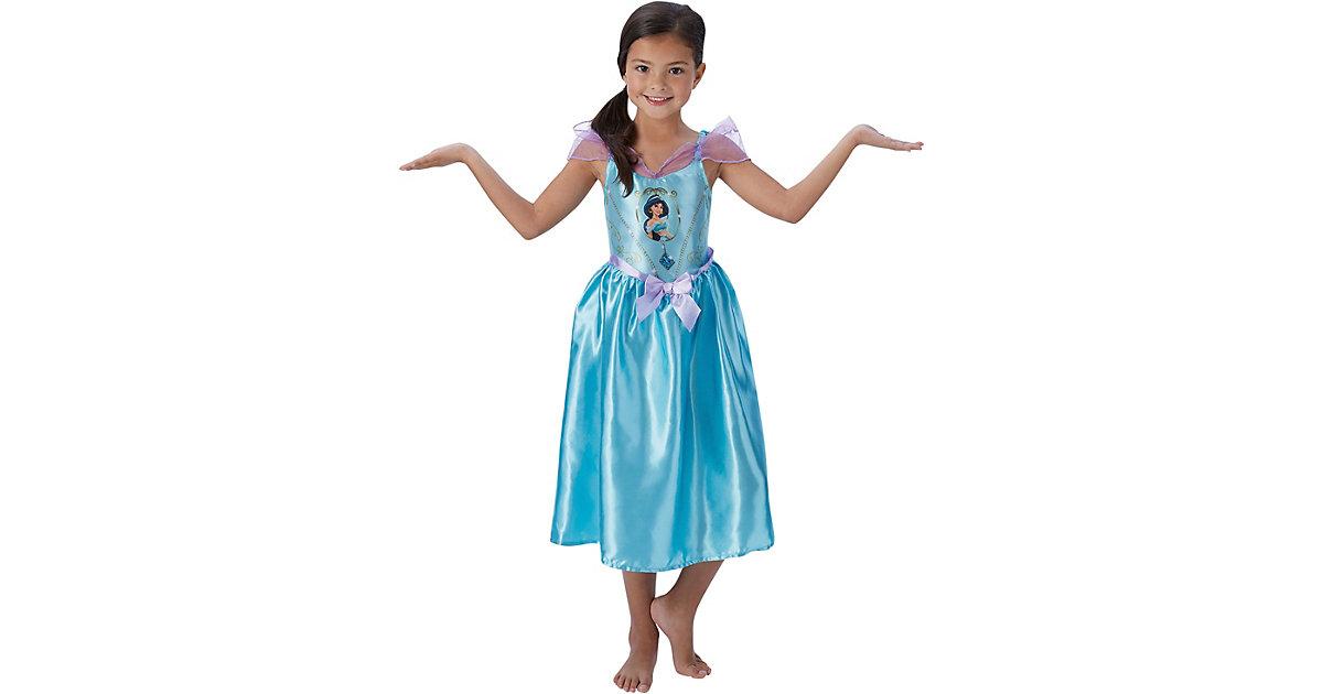 Kostüm Jasmine Aladdin Fairytale blau Gr. 104 Mädchen Kleinkinder
