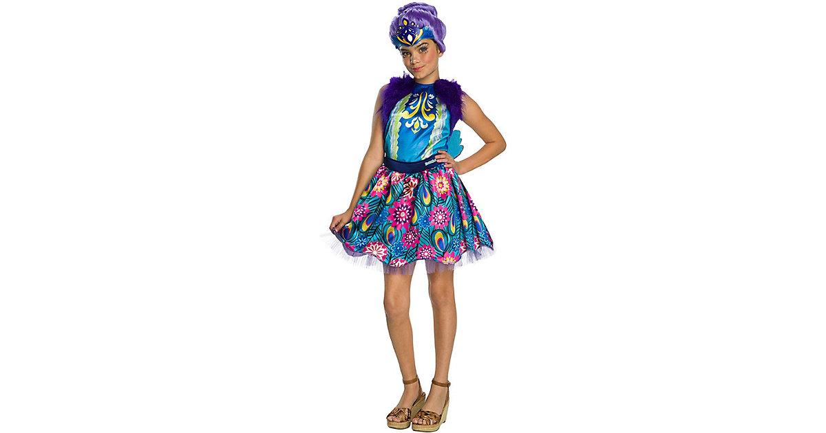 Kostüm Enchantimals Patter Peacock blau Gr. 110/122 Mädchen Kinder