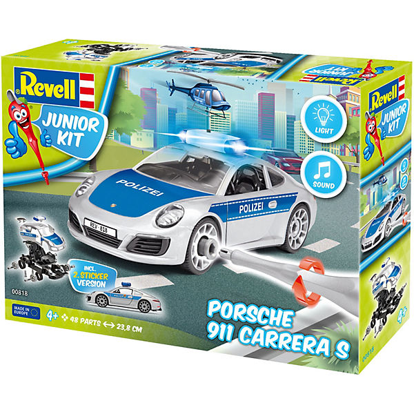 "Revell Junior Kit Porsche 911 ""Polizei"""