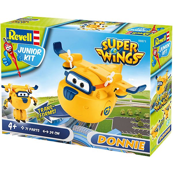 Revell Junior Kit Super Wings - Donnie, Revell Modellbausätze Junior Kit