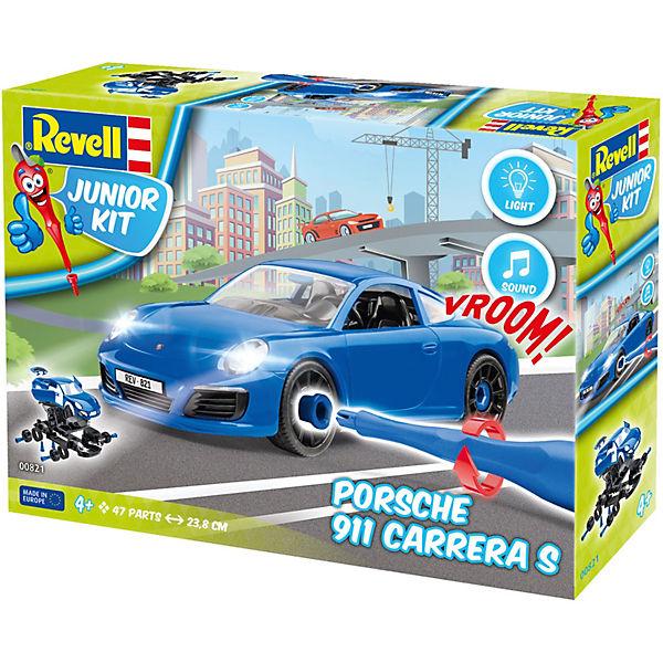 Revell Junior Kit Porsche 911 Carrera S, Revell Modellbausätze Junior Kit