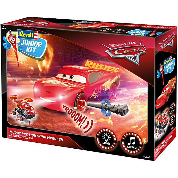 Revell Junior Kit Lightning McQueen Crazy 8 Race