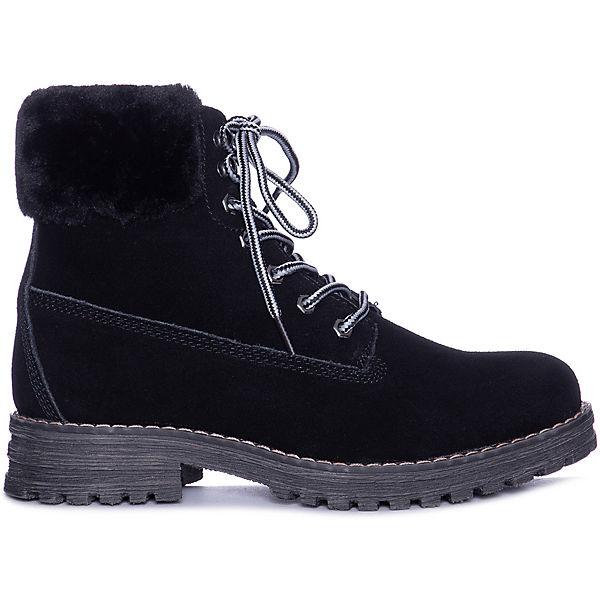 Утепленные ботинки Keddo