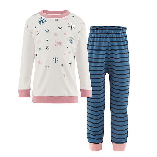 unverwechselbarer Stil große sorten Preis vergleichen Kinder Schlafanzug, Organic Cotton, LIVING CRAFTS