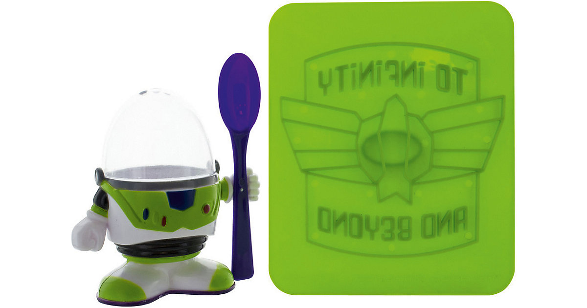 Disney Buzz Lightyear Eierbecher & Toaststempel