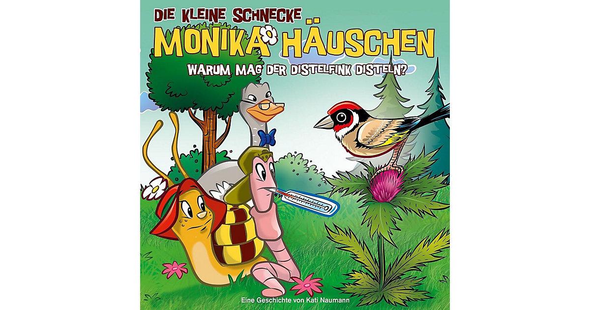 CD Die Kleine Schnecke Monika Häuschen 51 - Warum mag der Distelfink Disteln? Hörbuch