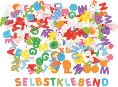 Filzstanzteile Buchstaben und Zahlen