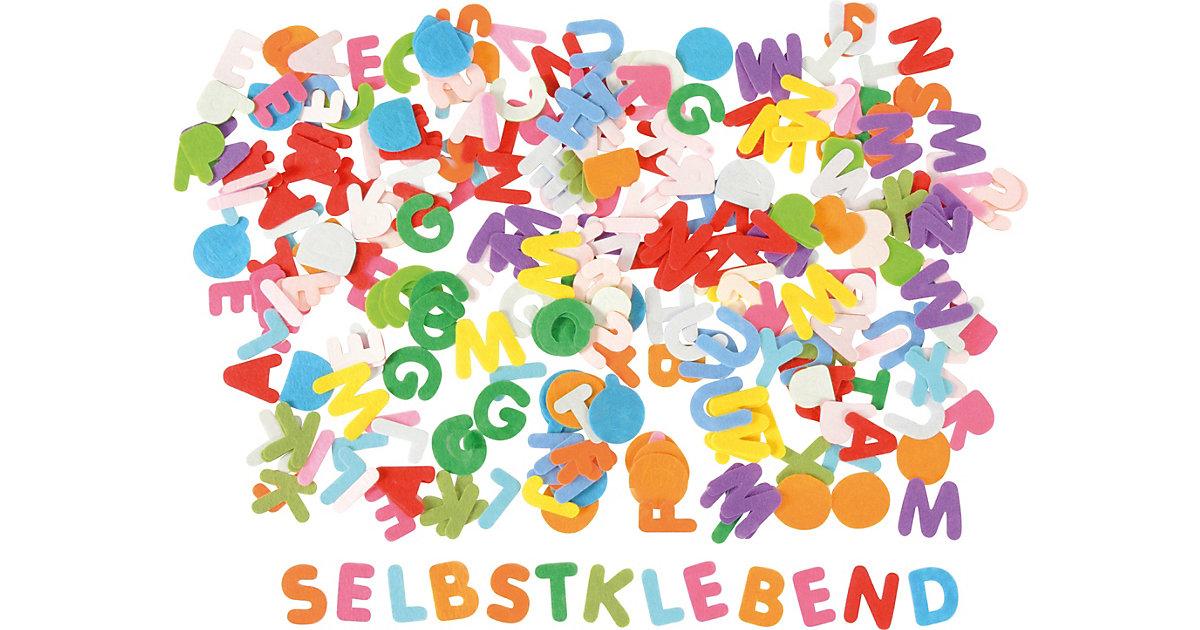 Filzbuchstaben selbstklebend 3 cm, 300 Stück