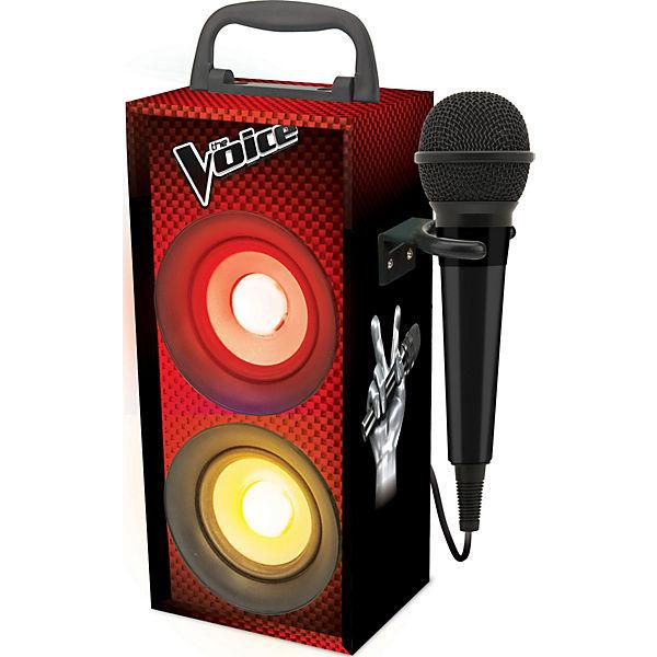 """Blautooth Mini-Turmlautsprecher """"The Voice"""" inkl. Mikrofon, LEXIBOOK"""