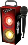 "Bluetooth Mini-Turmlautsprecher ""The Voice"" inkl. Mikrofon"