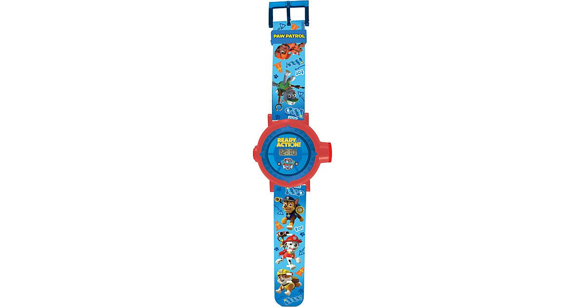 Paw Patrol Projektor-Armbanduhr mehrfarbig