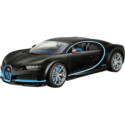 Машинка Bburago Bugatti Chiron, 1:18 от Bburago